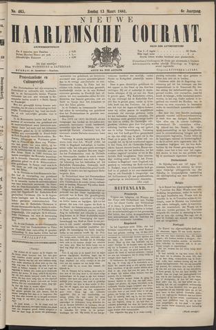 Nieuwe Haarlemsche Courant 1881-03-13