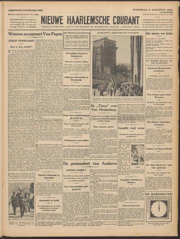 Nieuwe Haarlemsche Courant 1934-08-08
