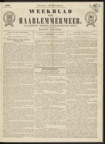 Weekblad van Haarlemmermeer 1868-12-11