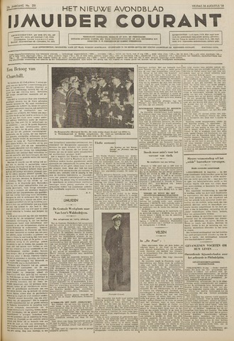 IJmuider Courant 1938-08-26