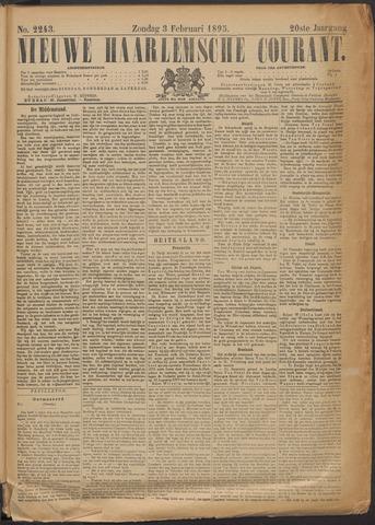 Nieuwe Haarlemsche Courant 1895-02-03