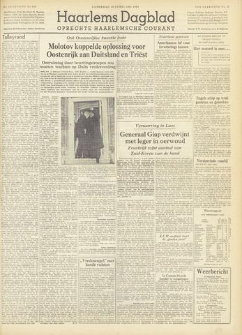 Haarlem's Dagblad 1954-02-13