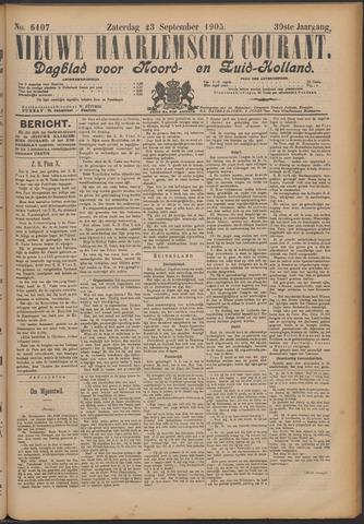 Nieuwe Haarlemsche Courant 1905-09-23