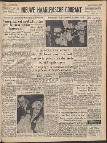 Nieuwe Haarlemsche Courant 1957-11-09