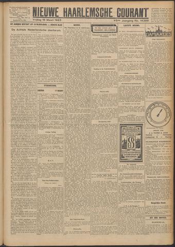 Nieuwe Haarlemsche Courant 1923-03-16