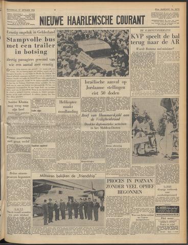 Nieuwe Haarlemsche Courant 1956-09-27