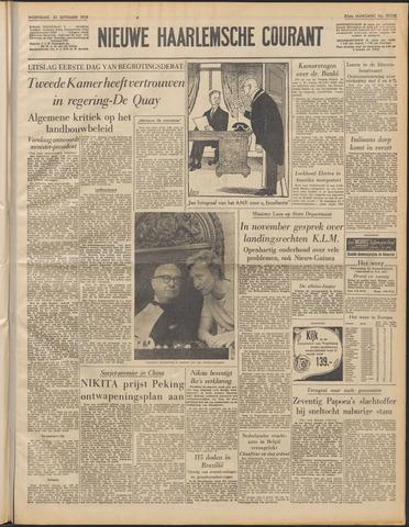 Nieuwe Haarlemsche Courant 1959-09-30