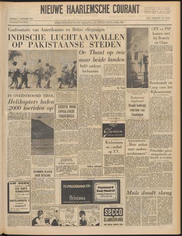 Nieuwe Haarlemsche Courant 1965-09-07