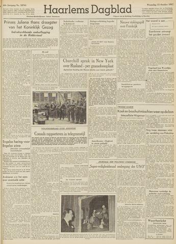 Haarlem's Dagblad 1947-10-15