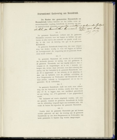 Raadsnotulen Heemstede 1908-07-02