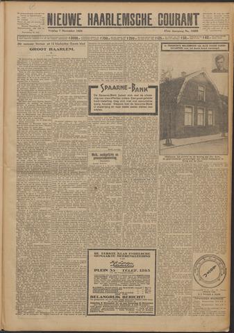 Nieuwe Haarlemsche Courant 1924-11-07