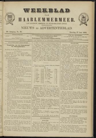 Weekblad van Haarlemmermeer 1885-06-27