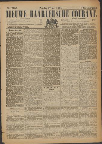 Nieuwe Haarlemsche Courant 1894-05-27