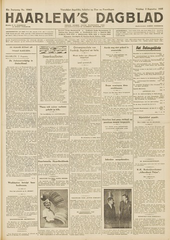 Haarlem's Dagblad 1935-08-02