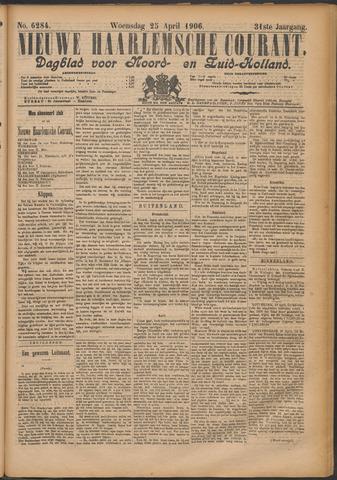 Nieuwe Haarlemsche Courant 1906-04-25