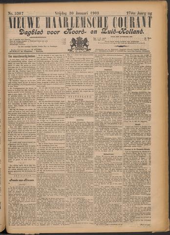 Nieuwe Haarlemsche Courant 1903-01-30
