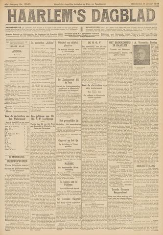 Haarlem's Dagblad 1926-01-21
