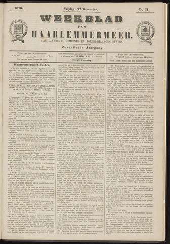 Weekblad van Haarlemmermeer 1876-12-22