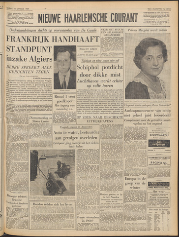 Nieuwe Haarlemsche Courant 1959-01-16