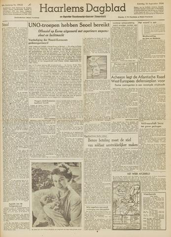 Haarlem's Dagblad 1950-09-16