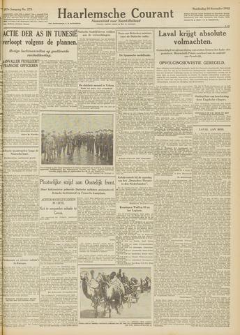 Haarlemsche Courant 1942-11-19