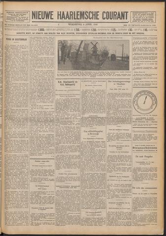 Nieuwe Haarlemsche Courant 1930-04-09