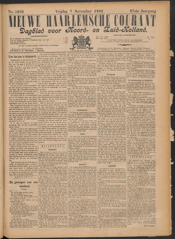 Nieuwe Haarlemsche Courant 1902-11-07