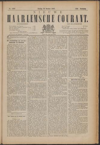Nieuwe Haarlemsche Courant 1887-10-30