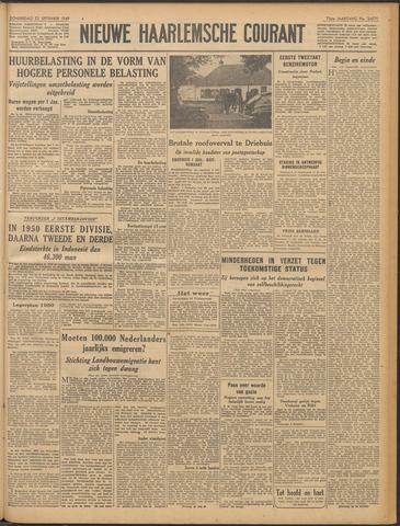 Nieuwe Haarlemsche Courant 1949-09-22