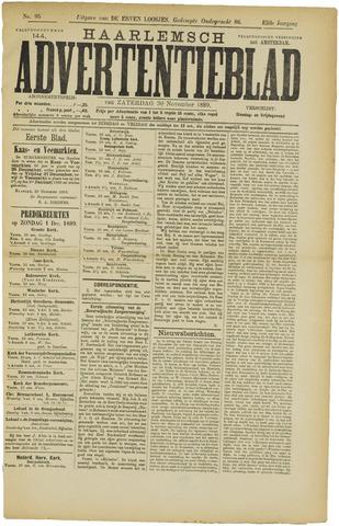 Haarlemsch Advertentieblad 1889-11-30