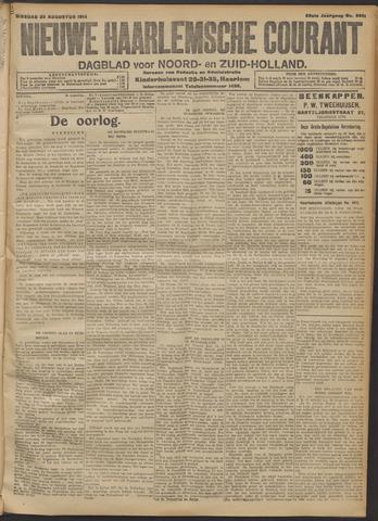 Nieuwe Haarlemsche Courant 1914-08-25