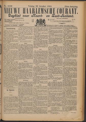 Nieuwe Haarlemsche Courant 1905-10-20