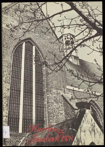 Jaarverslagen en Jaarboeken Vereniging Haerlem 1978
