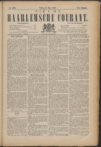 Nieuwe Haarlemsche Courant 1889-03-22