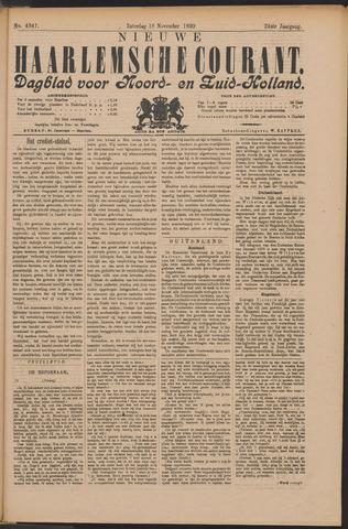 Nieuwe Haarlemsche Courant 1899-11-18
