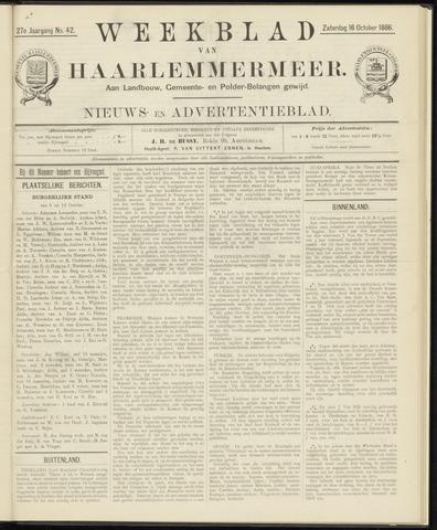 Weekblad van Haarlemmermeer 1886-10-16