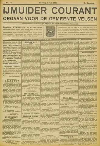IJmuider Courant 1916-07-08