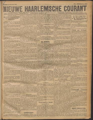 Nieuwe Haarlemsche Courant 1919-10-10
