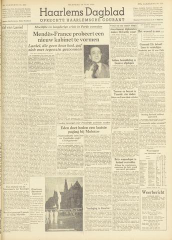Haarlem's Dagblad 1954-06-14