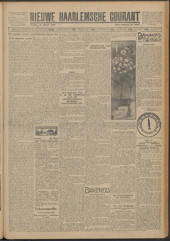 Nieuwe Haarlemsche Courant 1925-03-27