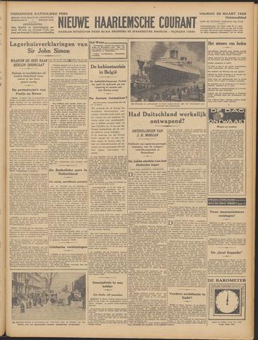 Nieuwe Haarlemsche Courant 1935-03-22