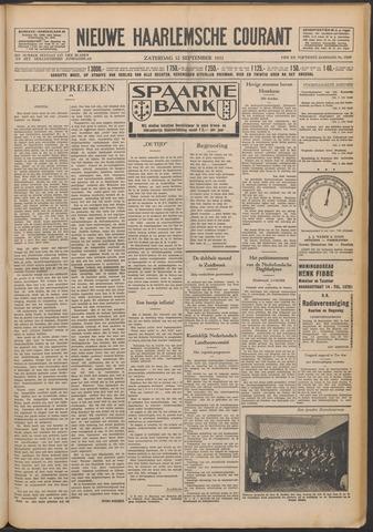 Nieuwe Haarlemsche Courant 1931-09-12