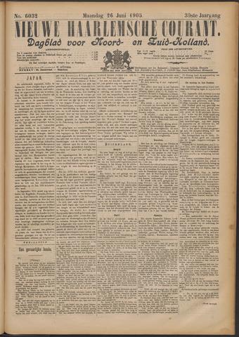 Nieuwe Haarlemsche Courant 1905-06-26