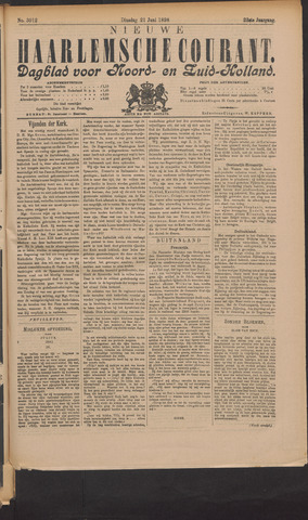 Nieuwe Haarlemsche Courant 1898-06-21