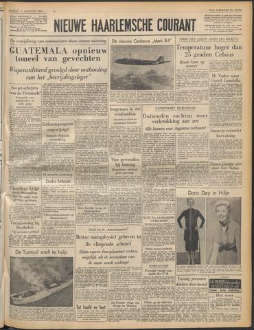 Nieuwe Haarlemsche Courant 1954-08-03