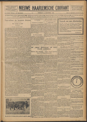 Nieuwe Haarlemsche Courant 1928-10-12