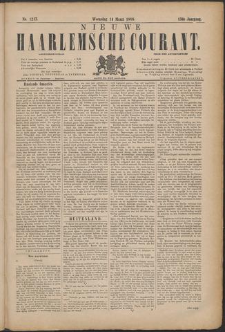 Nieuwe Haarlemsche Courant 1888-03-14
