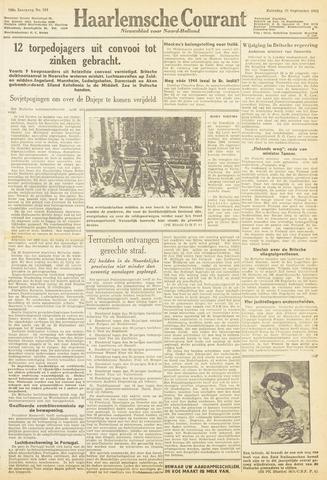 Haarlemsche Courant 1943-09-25