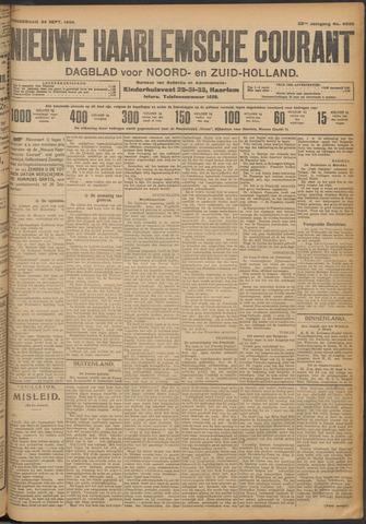 Nieuwe Haarlemsche Courant 1908-09-24
