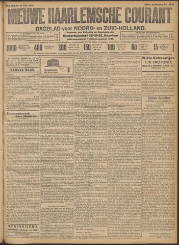 Nieuwe Haarlemsche Courant 1914-07-18